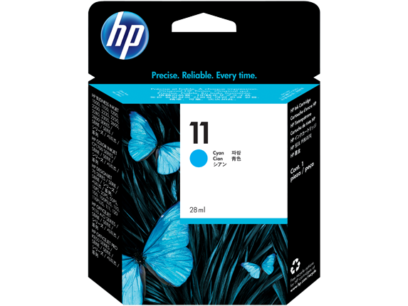 Hp C4836A Cyan Inkjet Cartridge (2350 σελίδες) 11