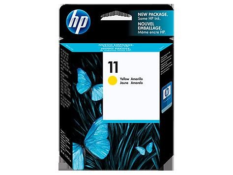 Hp C4838A Yellow Inkjet Cartridge  11