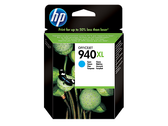 Hp C4907AE Cyan Inkjet Cartridge (1400 σελίδες) 940XL