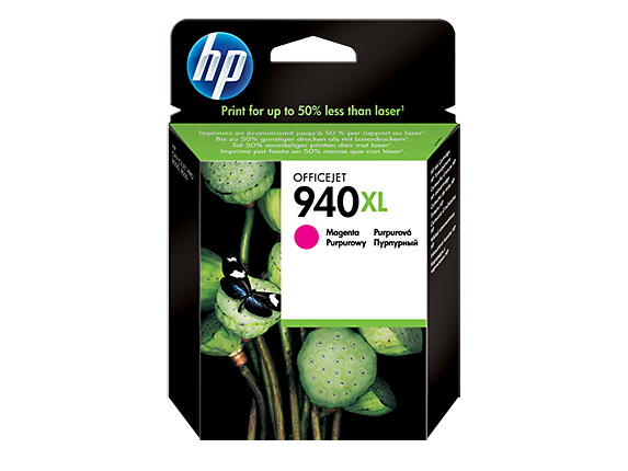Hp C4908AE Magenta Inkjet Cartridge (1400 σελίδες) 940XL
