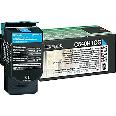 Lexmark C540H1CG Cyan Laser Toner  C540H1