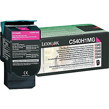 C540H1MG 1 - Great Deals for the C540H1MG Lexmark C544DN Magenta High Yield Toner Cartridge
