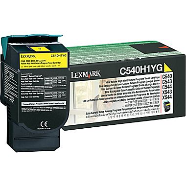 Lexmark C540H1YG Yellow Laser Toner  C540H1