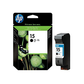 Hp C6615DE Black  Inkjet Cartridge (500 σελίδες) HP15