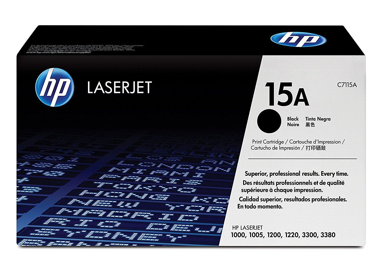 Hp C7115A Black  Laser Toner  15A