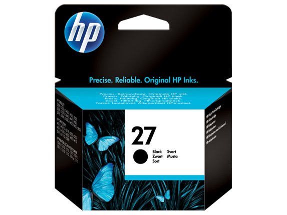 Hp C8727AE Black  Inkjet Cartridge (280 σελίδες) HP27