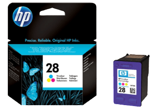 Hp C8728AE Color Inkjet Cartridge (240 σελίδες) HP28