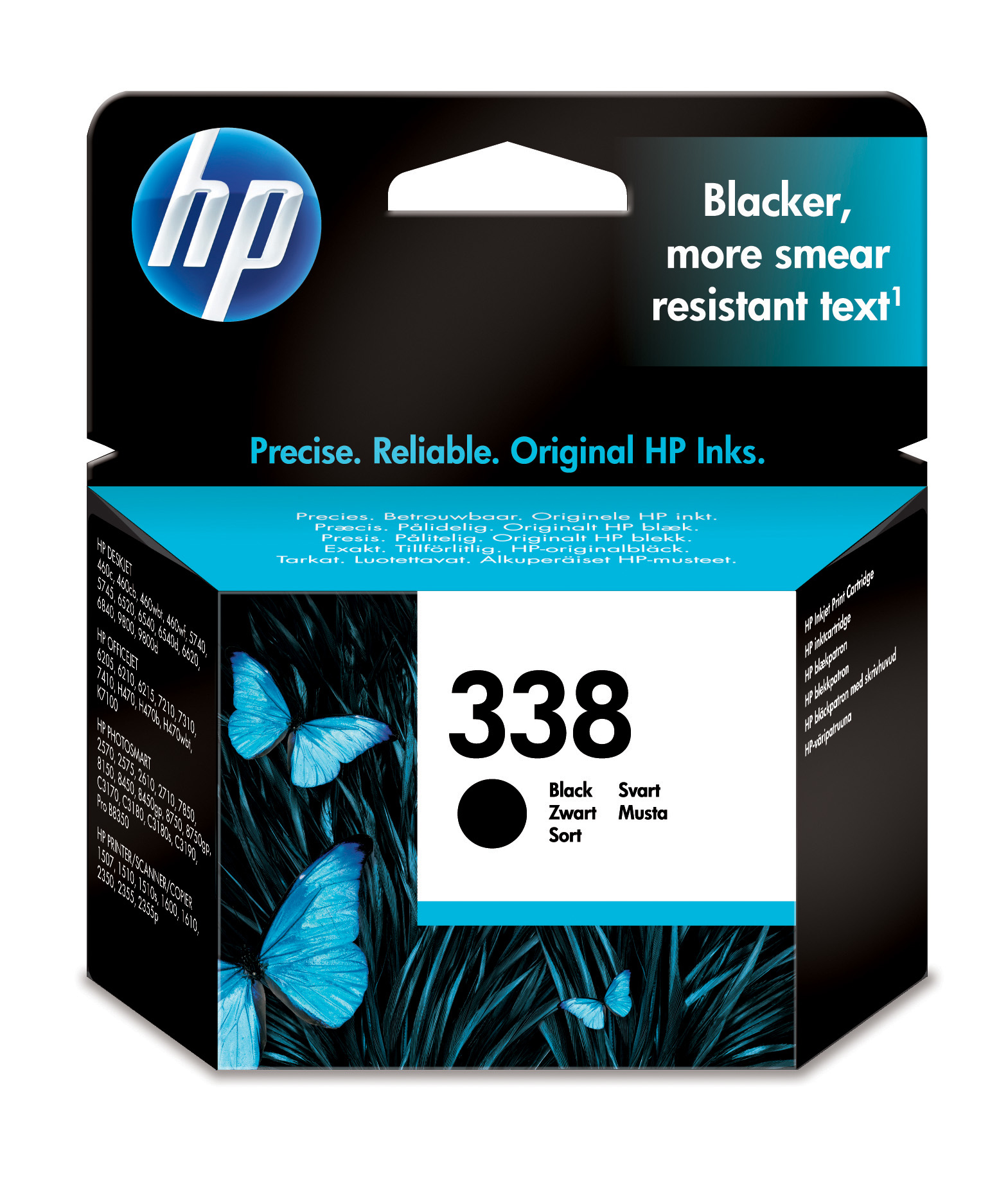 Hp C8765EE Black  Inkjet Cartridge (450 σελίδες) 338