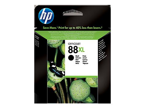 Hp C9396AE Black  Inkjet Cartridge (2450 σελίδες) 88XL