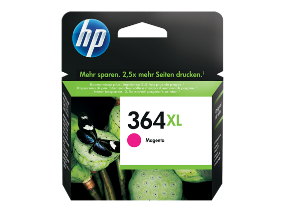 Hp CB324EE Magenta Inkjet Cartridge (750 σελίδες) 364XL