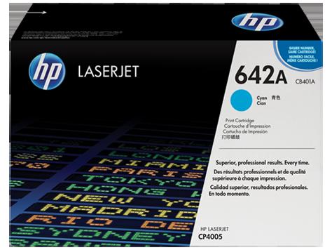 Hp CB401A Cyan Laser Toner (7500 σελίδες) 642A