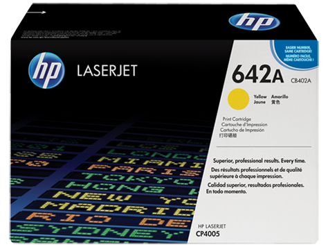 Hp CB402A Yellow Laser Toner (7500 σελίδες) 642A