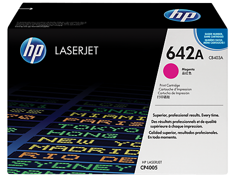Hp CB403A Magenta Laser Toner  642A