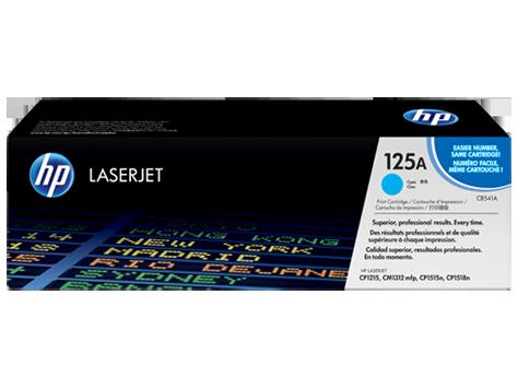 Hp CB541A Cyan Laser Toner (1400 σελίδες) 125A