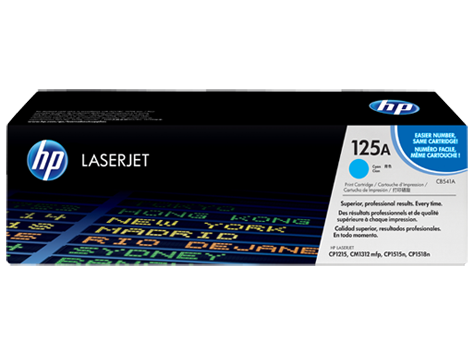 Hp CB541A Cyan Laser Toner  125A