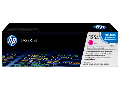 Hp CB543A Magenta Laser Toner (1400 σελίδες) 125A