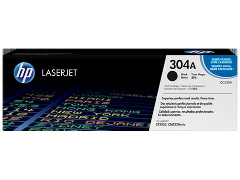 Hp CC530A Black  Laser Toner  304A