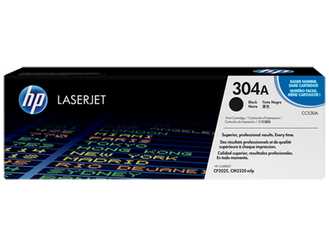 Hp CC530A Black  Laser Toner (3500 σελίδες) 304A