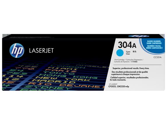 Hp CC531A Cyan Laser Toner (2800 σελίδες) 304A