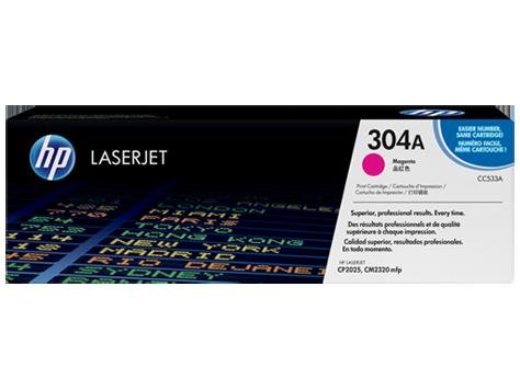Hp CC533A Magenta Laser Toner  304A