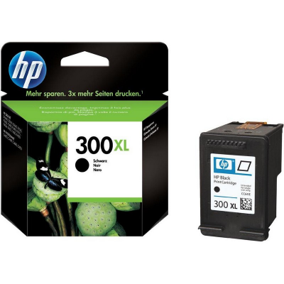 Hp CC641EE Black  Inkjet Cartridge (475 σελίδες) 300XL