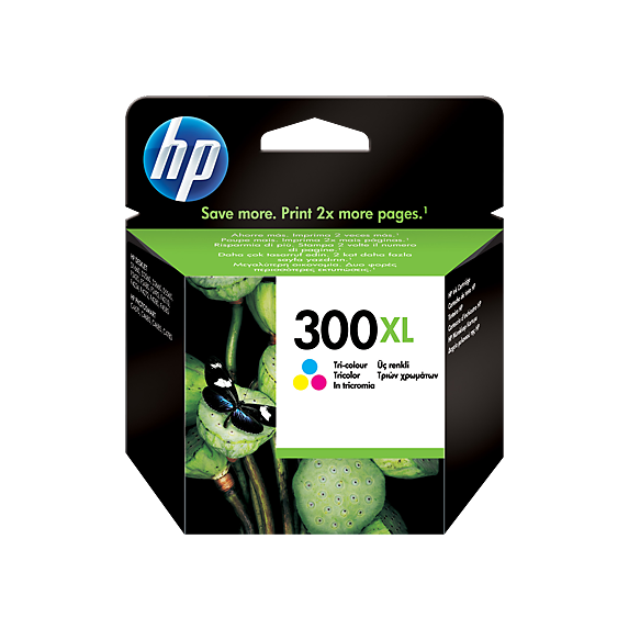 Hp CC644EE Color Inkjet Cartridge  300XL
