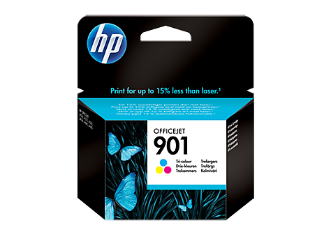 Hp CC656AE Color Inkjet Cartridge (360 σελίδες) 901