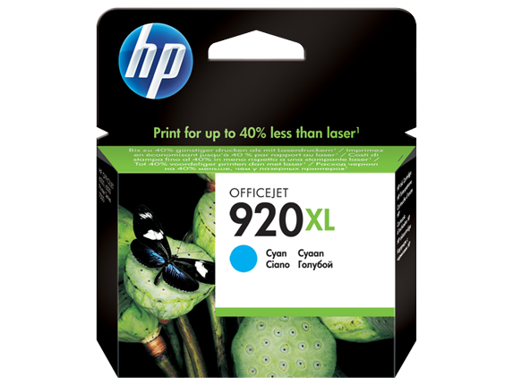 Hp CD972AE Cyan Inkjet Cartridge (700 σελίδες) 920XL