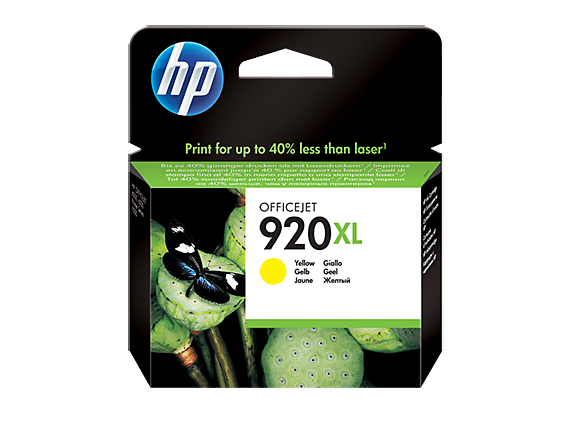 Hp CD974AE Yellow Inkjet Cartridge (700 σελίδες) 920XL