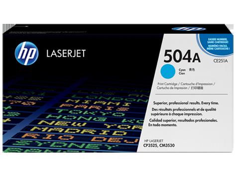 Hp CE251A Cyan Laser Toner (7000 σελίδες) 504A