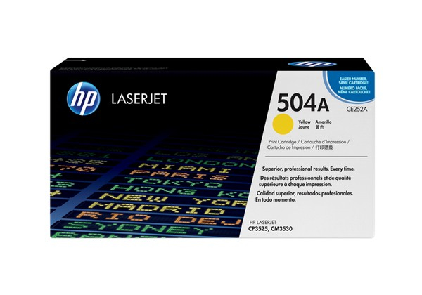 Hp CE252A Yellow Laser Toner (7000 σελίδες) 504A