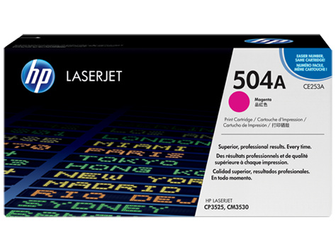 Hp CE253A Magenta Laser Toner  504A