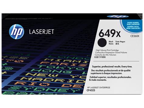 Hp CE260X Black  Laser Toner  649X