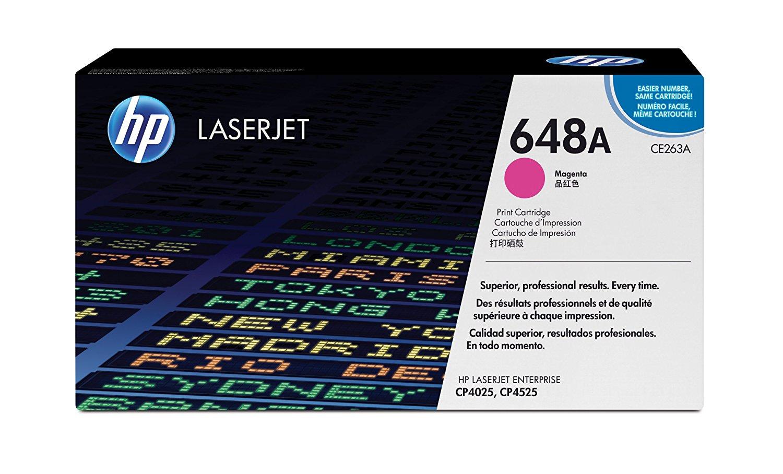 Hp CE263A Magenta Laser Toner  647A