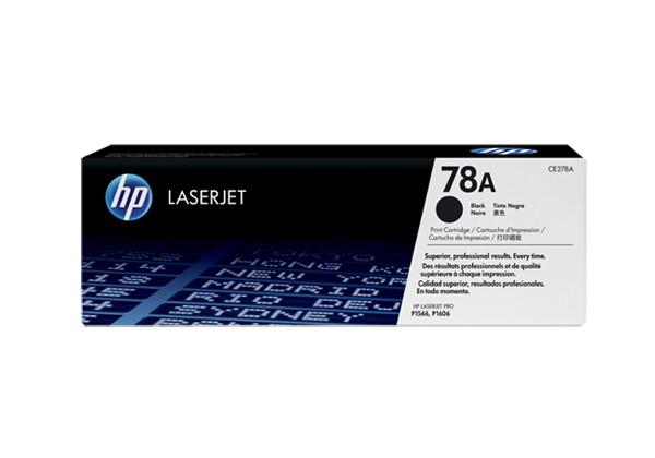 Hp CE278A Black  Laser Toner  78A