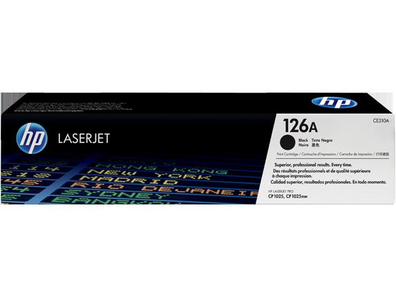 Hp CE310A Black  Laser Toner  126A