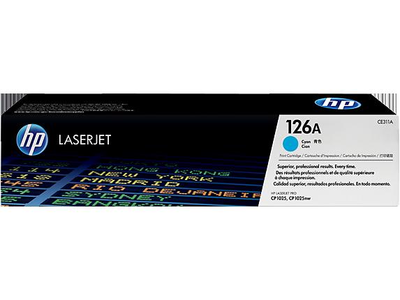 Hp CE311A Cyan Laser Toner (1000 σελίδες) 126A