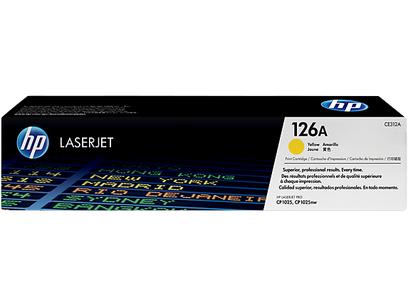 Hp CE312A Yellow Laser Toner (1000 σελίδες) 126A