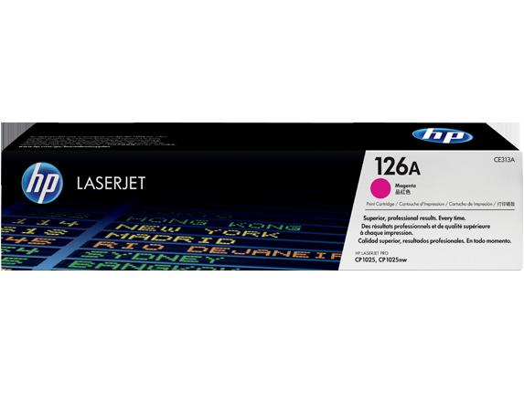 Hp CE313A Magenta Laser Toner (1000 σελίδες) 126A