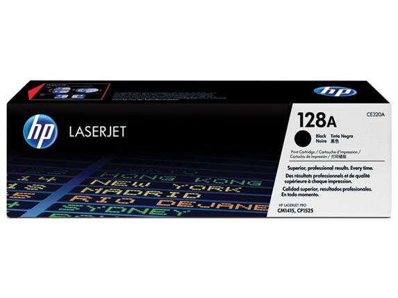Hp CE320A Black  Laser Toner  128A
