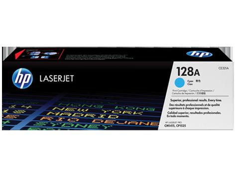 Hp CE321A Cyan Laser Toner (1300 σελίδες) 128A