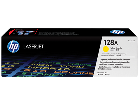 Hp CE322A Yellow Laser Toner (1300 σελίδες) 128A