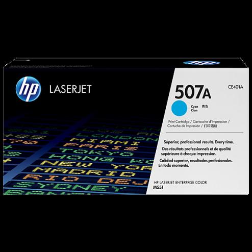 Hp CE401A Cyan Laser Toner (6000 σελίδες) 507A