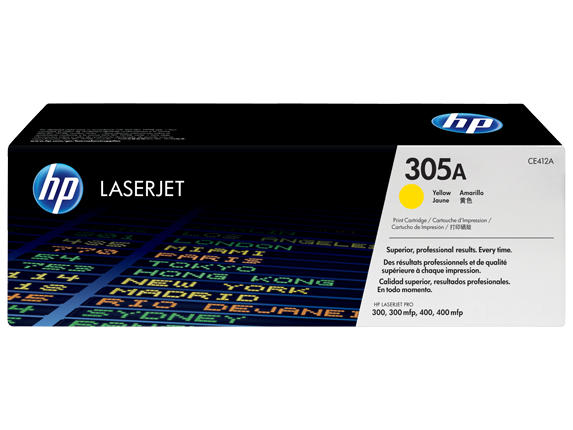 Hp CE412A Yellow Laser Toner (2600 σελίδες) 305A