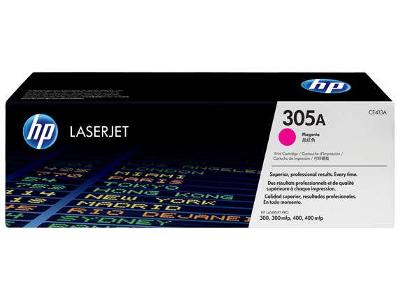 Hp CE413A Magenta Laser Toner (2600 σελίδες) 305A