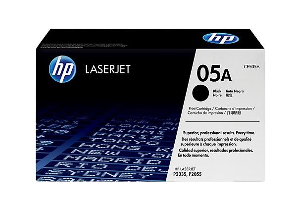 Hp CE505A Black  Laser Toner  05A