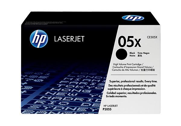 Hp CE505X Black  Laser Toner  05X