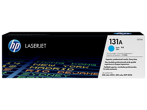 Hp CF211A Cyan Laser Toner (1800 σελίδες) 131A