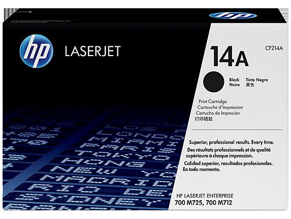 Hp CF214A Black  Laser Toner  14A