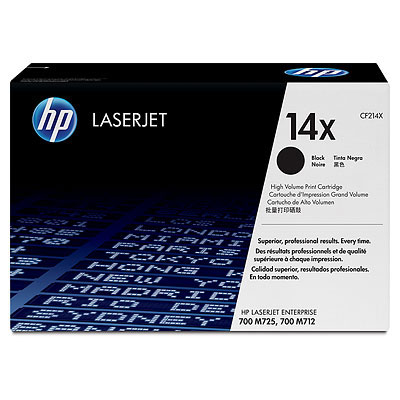 Hp CF214X Black  Laser Toner  14X